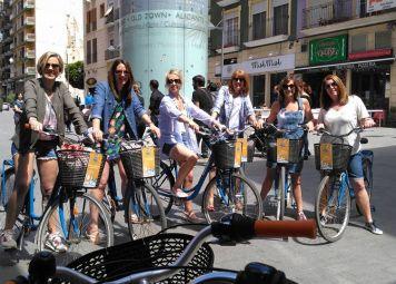 Fietsen huren in Alicante
