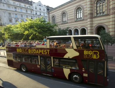 Budapest Hop on Hop off Bus