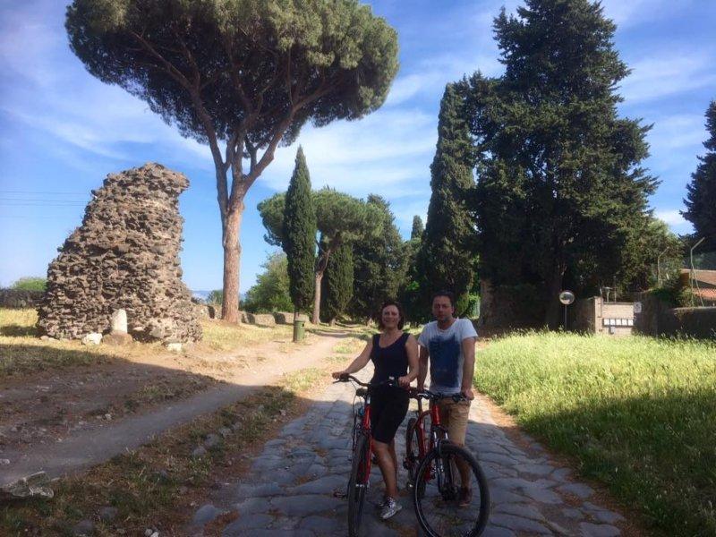 Rom Fahrradtour + Fahrradverleih Kombi