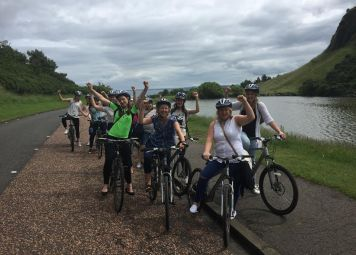 Edinburgh Fietstour: de Highlights