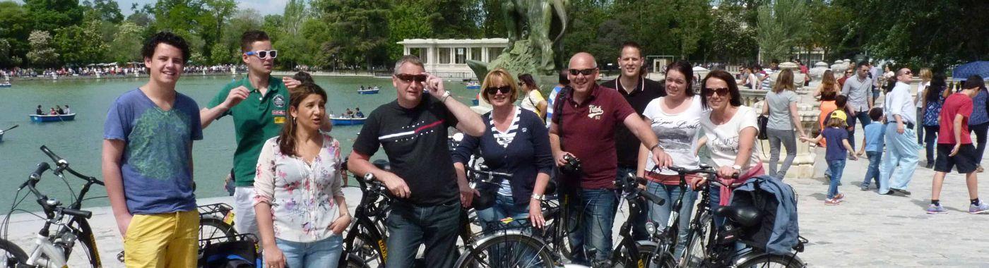 Madrid Fahrradtour + Verleih Kombi