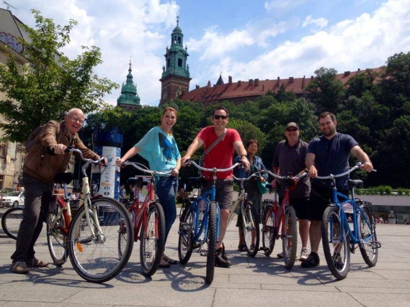 Krakow Private Bike Tour