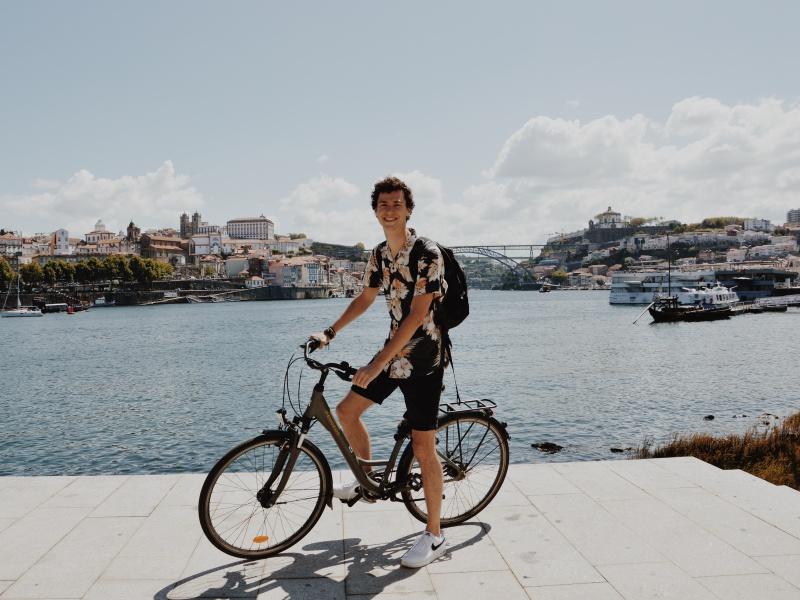Fietsen huren in Porto