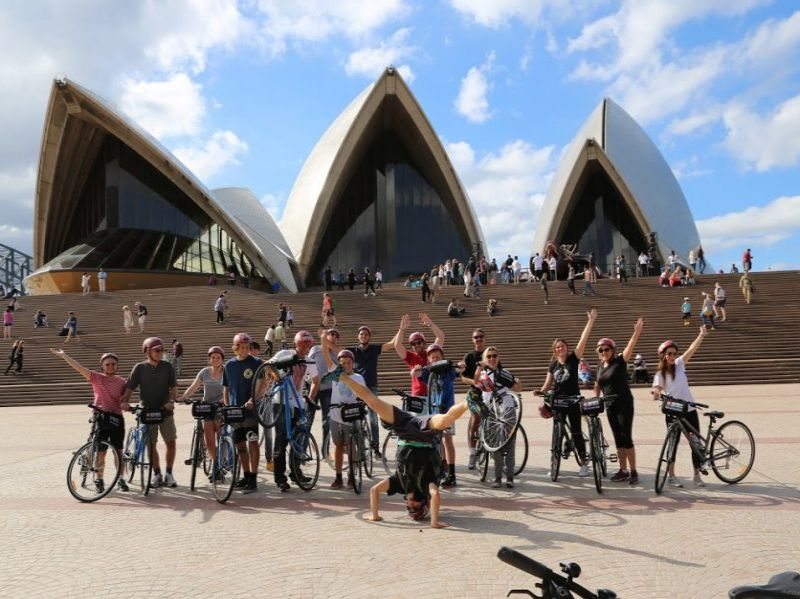 Sydney Highlights Bike Tour