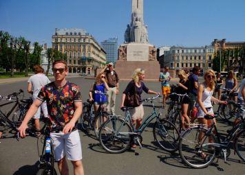 Riga Fietsroute met privegids