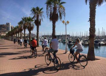 Alicante Fietstocht Playa San Juan