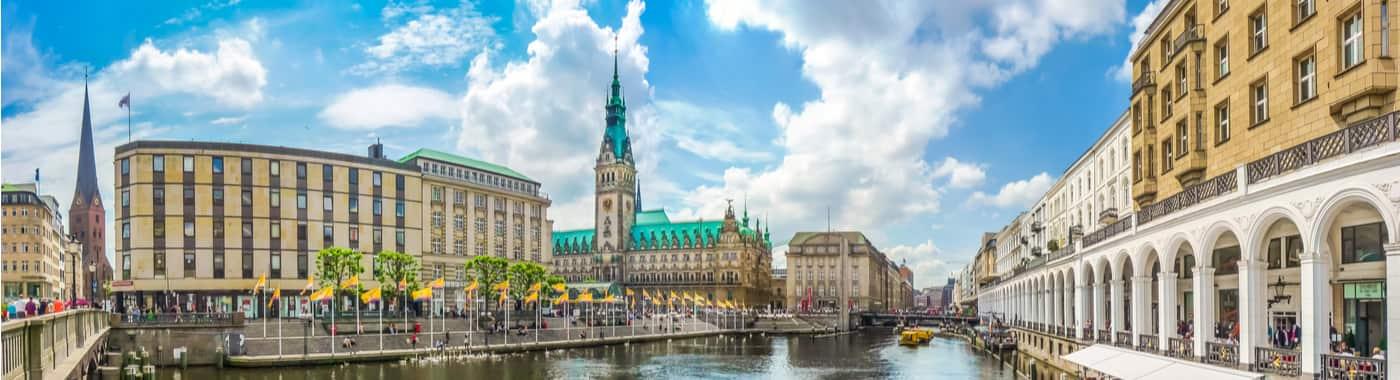 Fietsverhuur in Hamburg