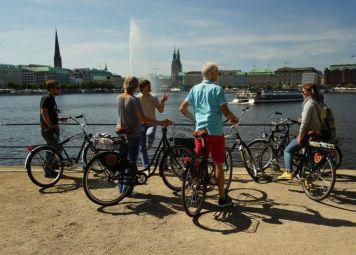 Hamburg Fietstocht met Privégids
