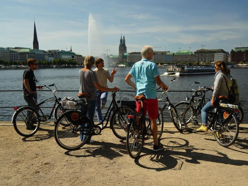 Highlights of Hamburg Bike Tour