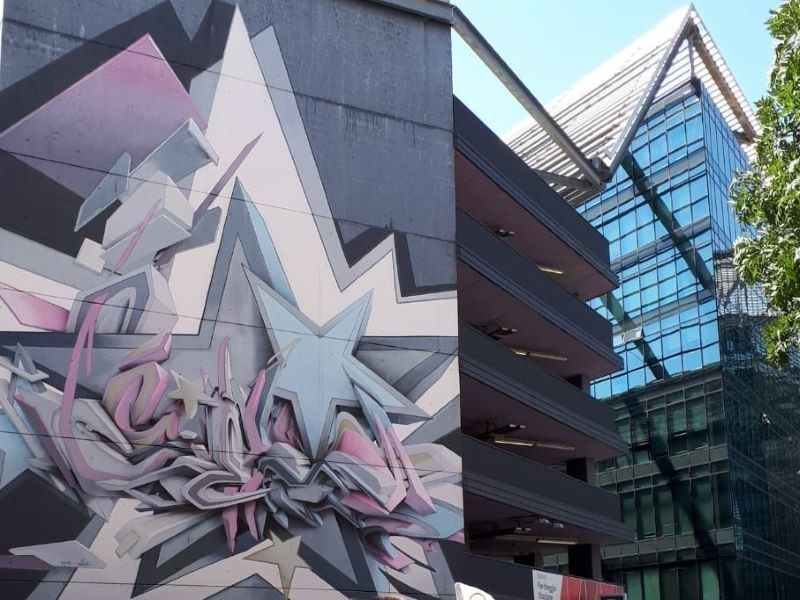 Bologna Fietstocht: Street Art