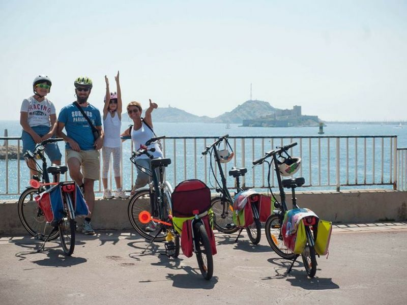 Marseille Highlights E-bike Tour