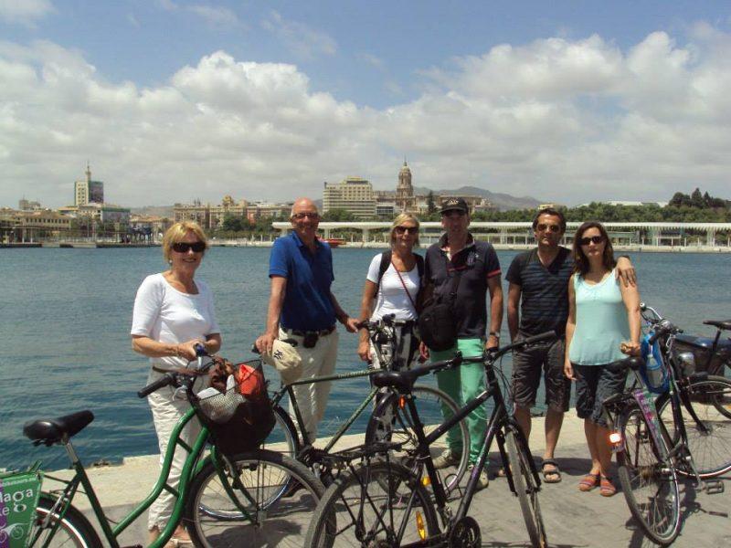 Málaga Fahrradtour + Fahrradverleih