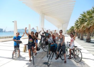 Malaga alternatieve fietsroute