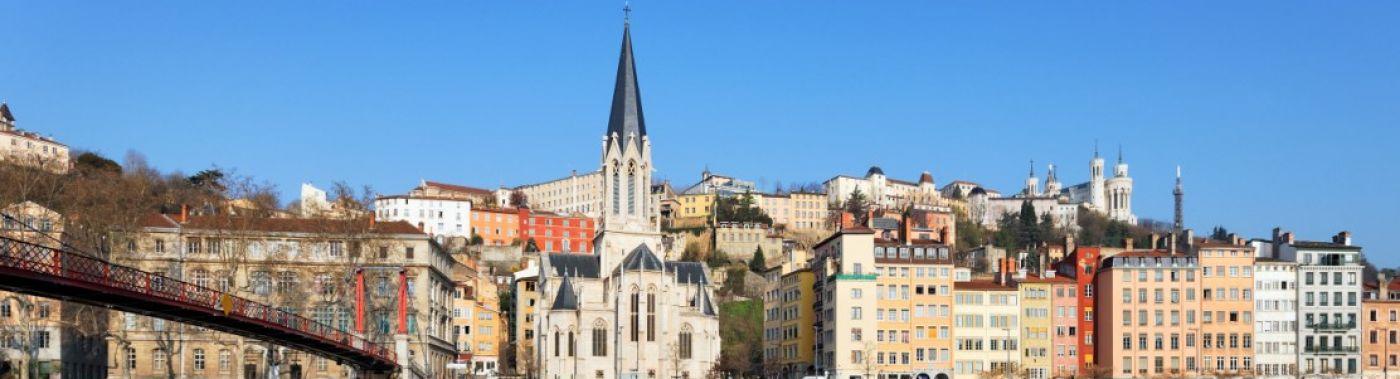 Fietsen huren in Lyon