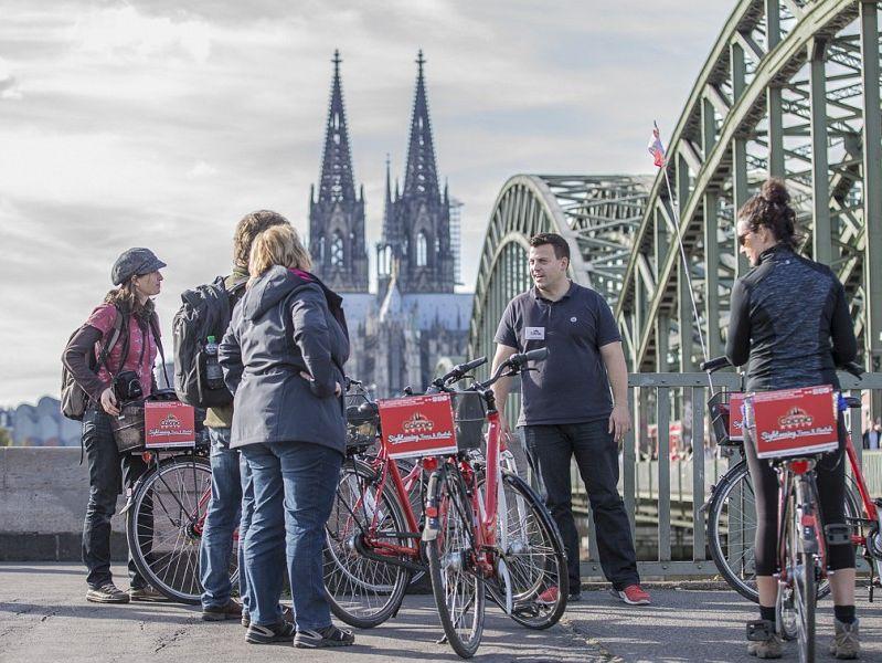 Köln Highlights Fahrradtour