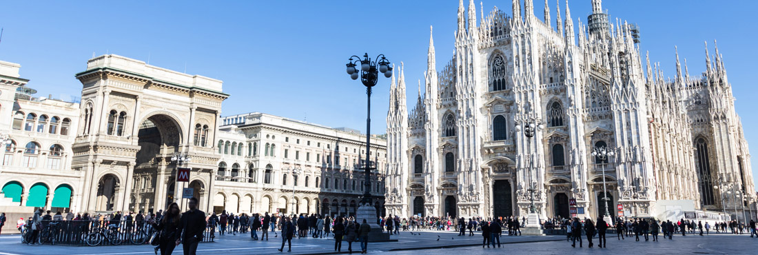 Fietsverhuur in Milaan