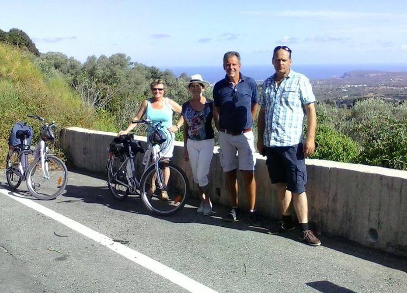 Crete Bike tour