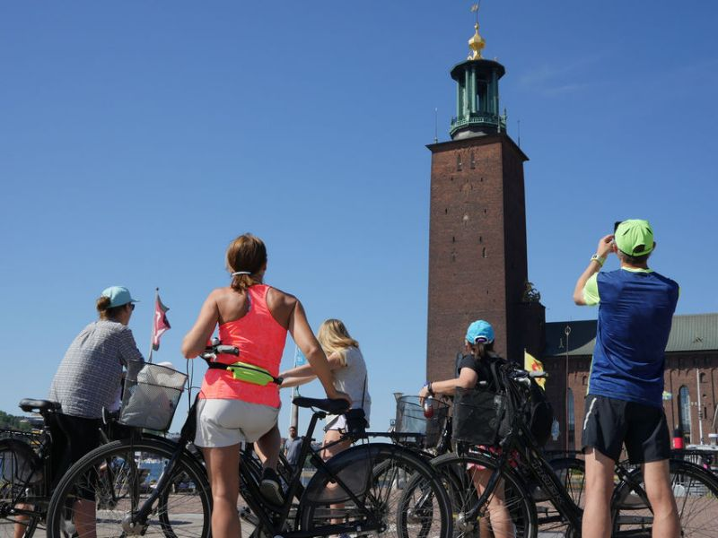 Stockholm Highlights Bike Tour