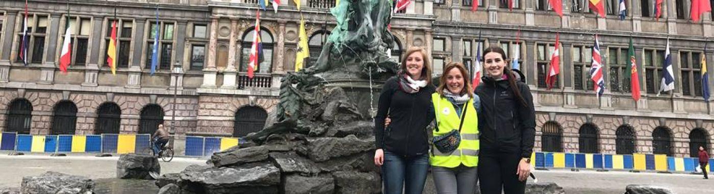 Wandeltour in Antwerpen