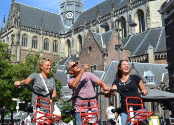 Fietsen huren in Haarlem