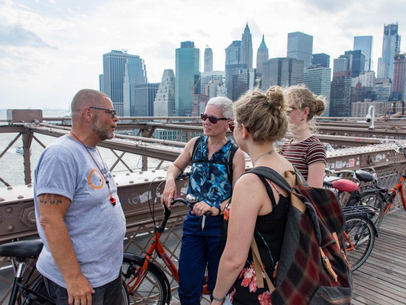 Manhattan & Brooklyn Fietsexcursie