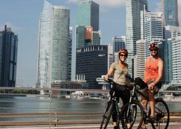 Fietsen huren in Singapore