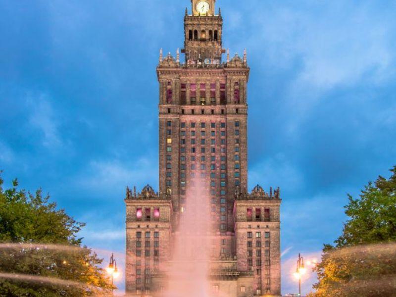 Warschau Avond Fietstocht
