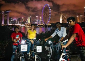 Singapore Fietstocht by Night