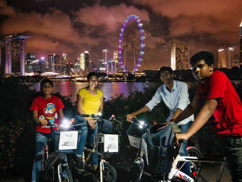 Singapore Fietstocht by Night