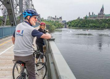 Fietsen huren in Ottawa