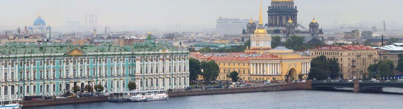 Fietsen in St. Petersburg