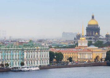 St. Petersburg Witte Nachten Fietstocht