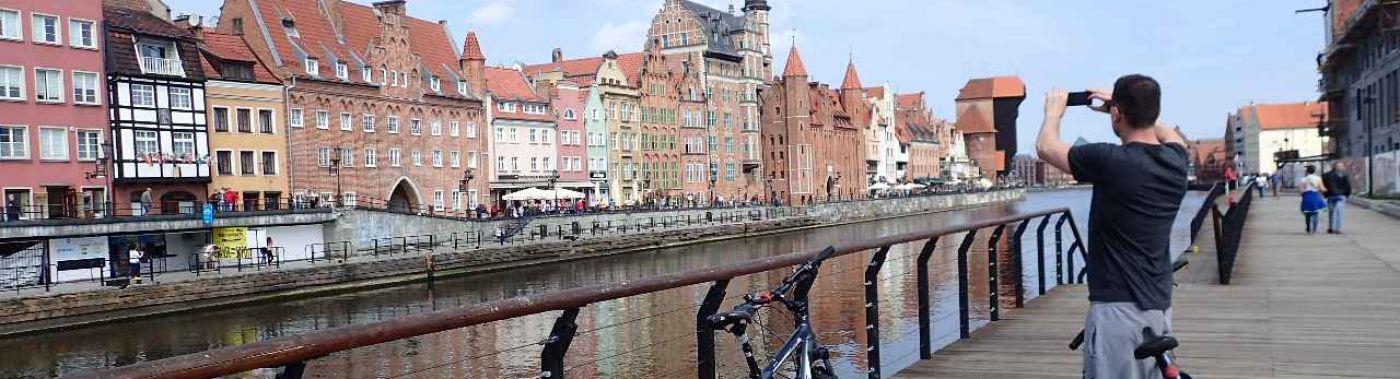 Cycling in Gdansk