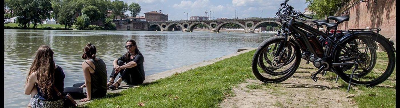 Toulouse Fietstour: de Highlights