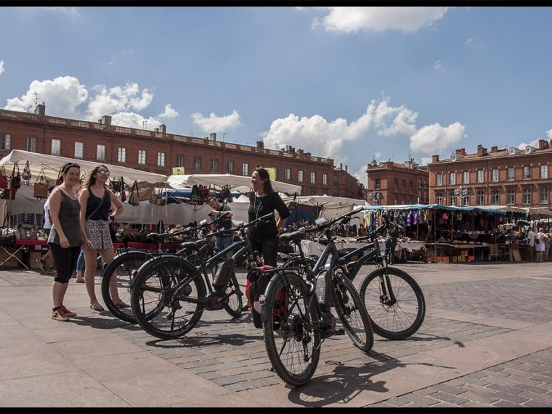 Toulouse Highlights Bike Tour