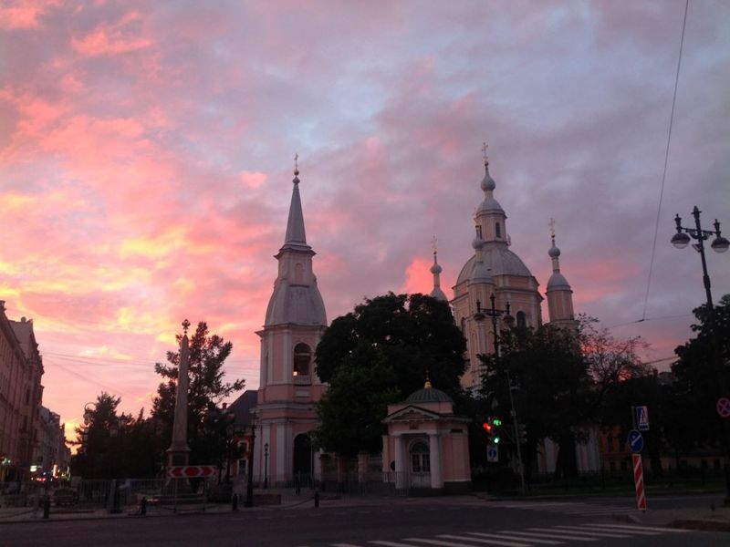 Weiße Nächte St. Petersburg Fahrradtour