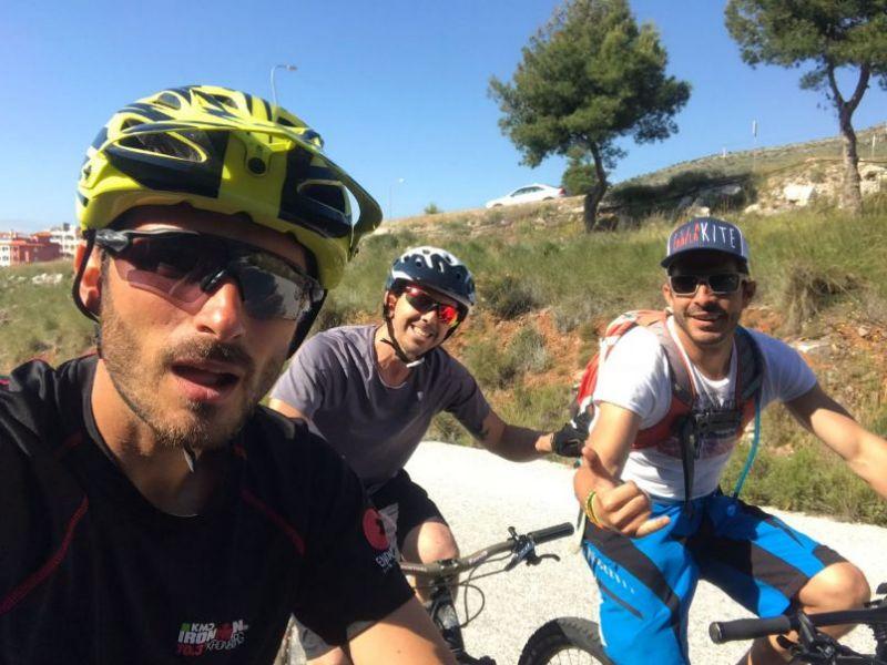 Torremolinos Umgebung Fahrradtour