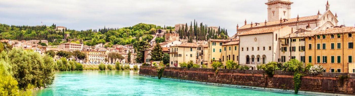 Fietsen in Verona