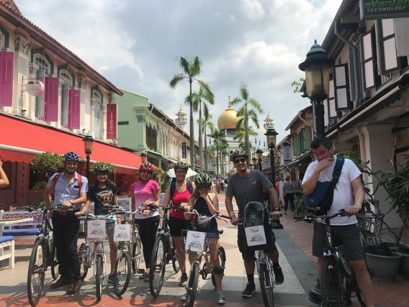 Singapur Food Fahrradtour