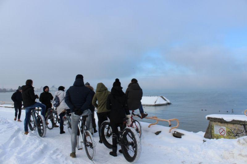 Tallinn Fietstour: Wintereditie