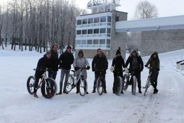 Tallinn Winter Fahrradtour
