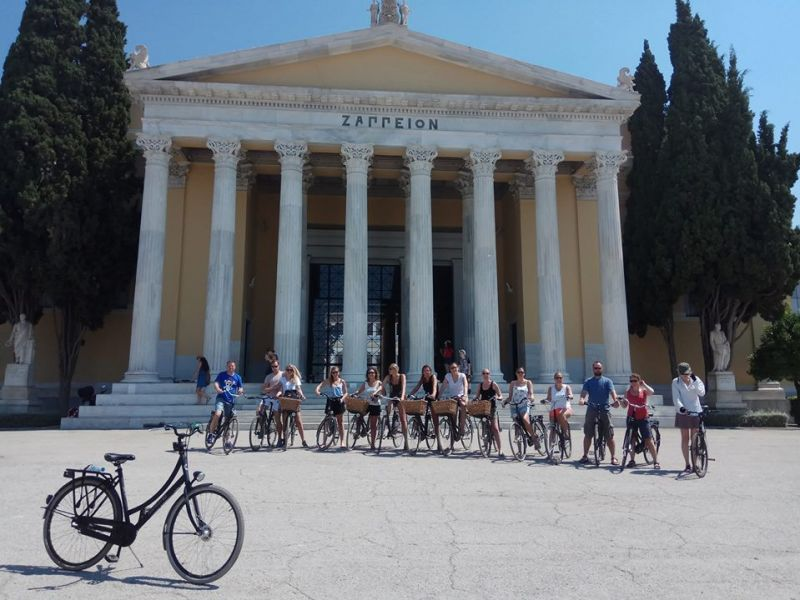 Studentenfietstour Athene