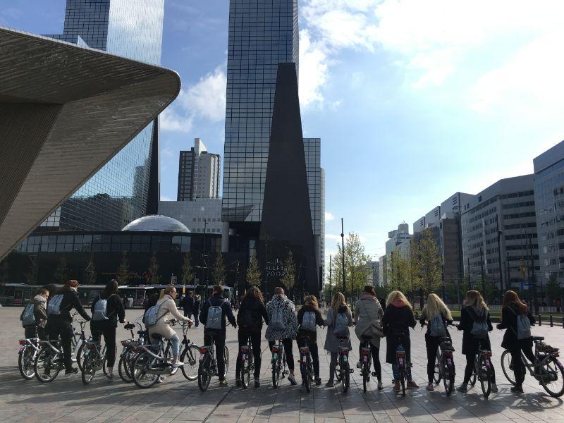 Studentenfietstour Rotterdam