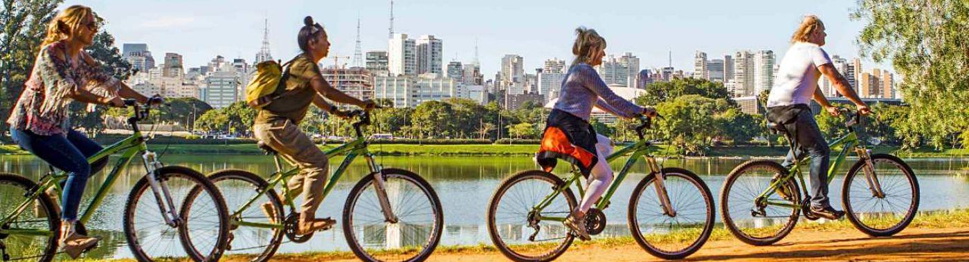 Fietsen in São Paulo