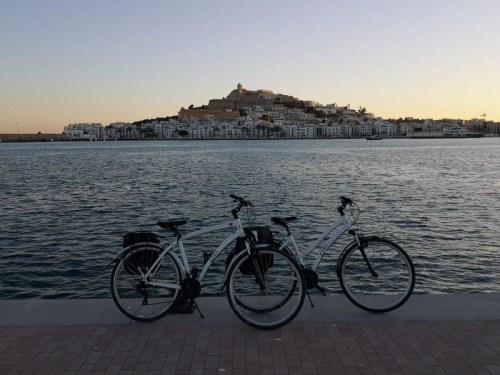 Fietsen huren in Ibiza