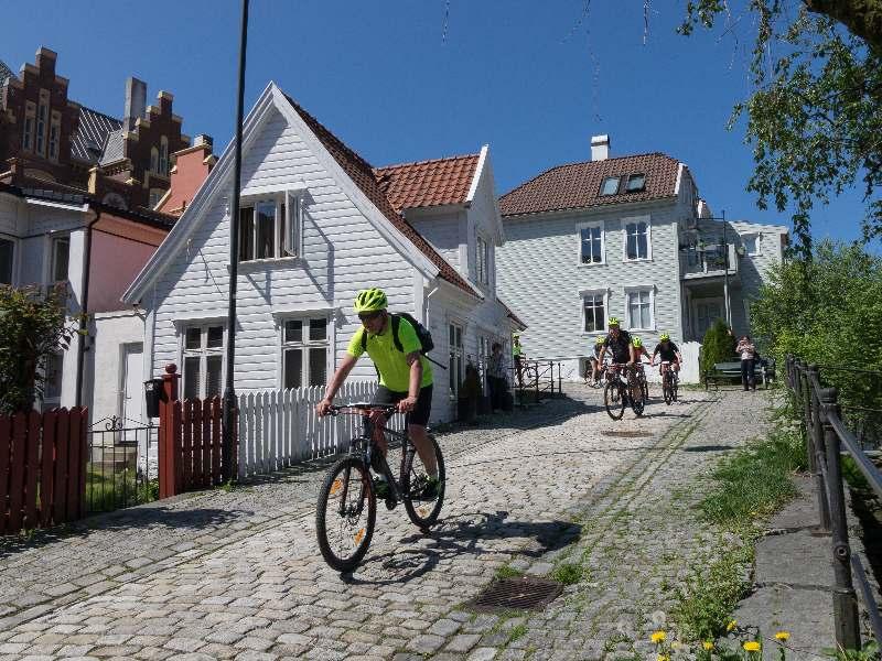 Bergen Highlights Fahrradtour