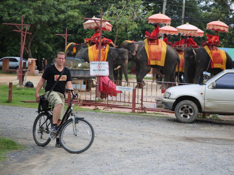 Ayutthaya Fietstour