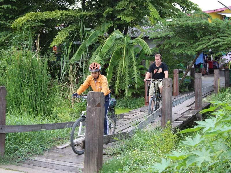 Ayutthaya Highlights Fahrradtour
