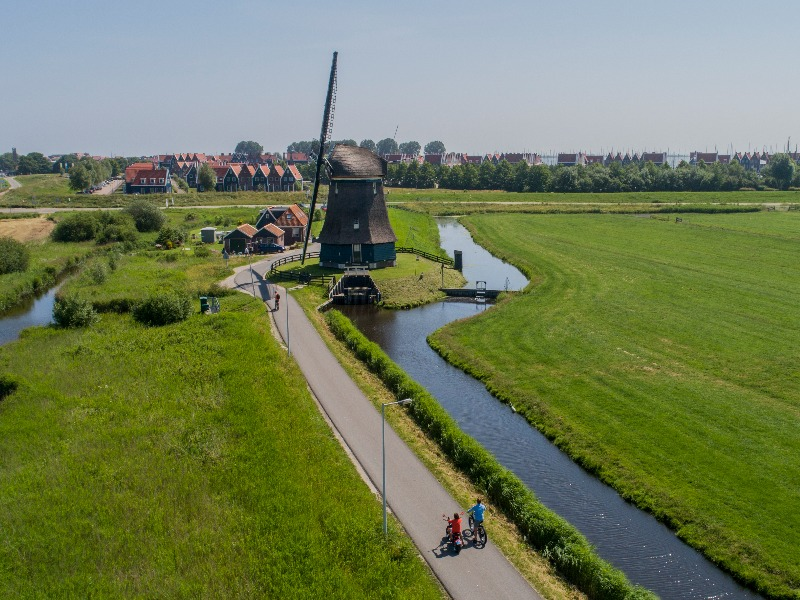 Highlights of Volendam Bike Tour