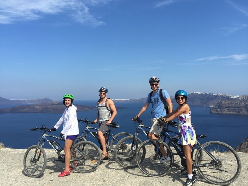 Santorini Bike Tour